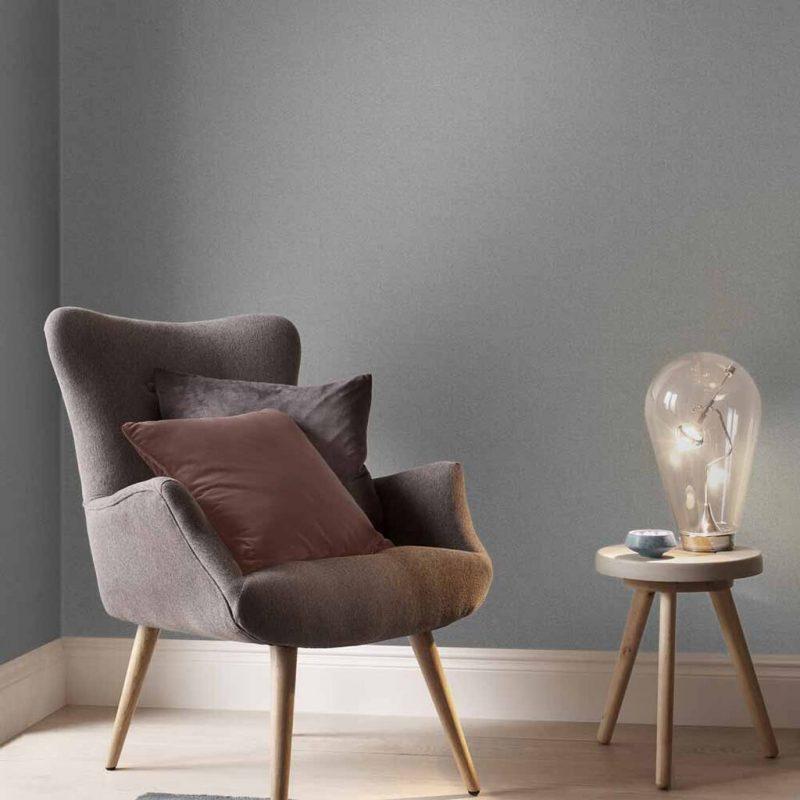 fauteuil-marron-avec-lampe-lumineuse