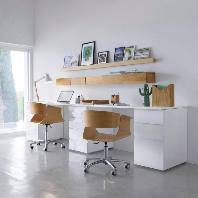 bureau avec deux assises