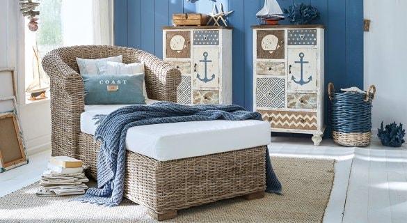 chambre enfant de déco été avec motifs marins pour un style bord de mer