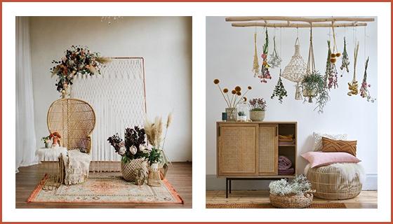 meubles-en-rotins-et-plantes-et-fleurs-sechees