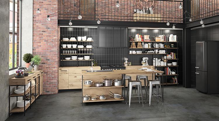 modern-kitchen-with-industrial-style-in-big-loft