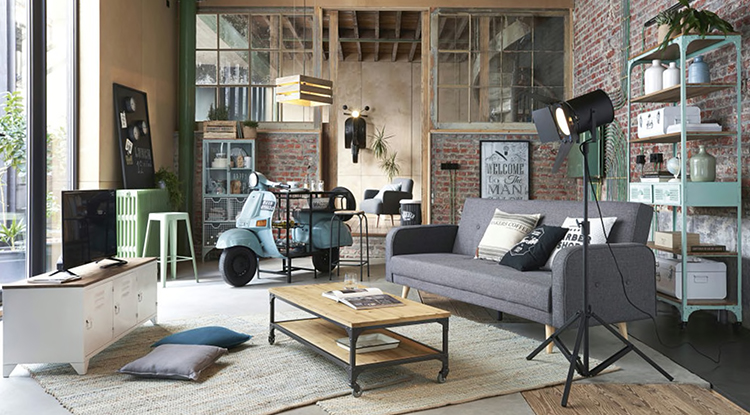 spacious-living-room-decorated-and-furnished-with-industrial-style-furnitures