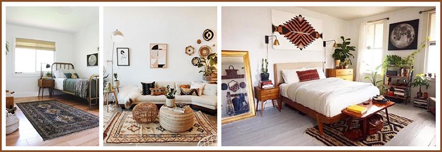 deco-vintage-avec-une-decoration-murale-et-un-tapis-ancien