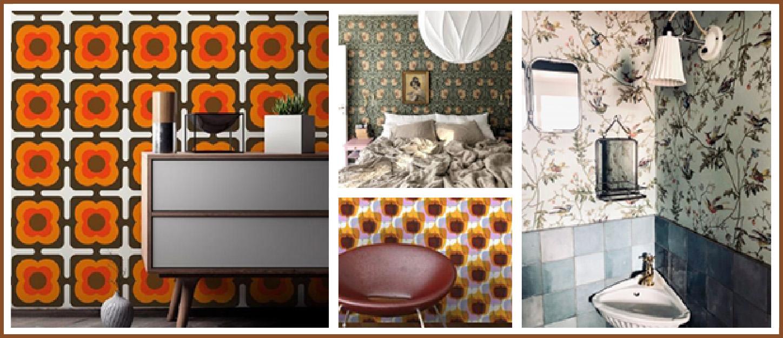 interieurs-deco-vintage-avec-papier-peint