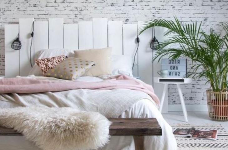 Comment créer une tête de lit en palette ?